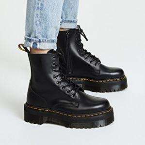 Dr Martens Jadon Platform Lace up boots